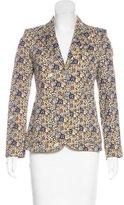 Louis Vuitton 2015 Floral Print Blazer