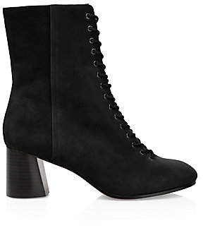Joie Women's Reyan Lace-Up Suede Ankle Boots