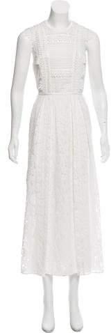 Burberry Lace Maxi Dress w/ Tags
