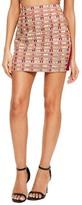 Missguided Embellished Mini Skirt