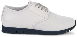 Canali Lace-Up Round Toe Sneakers