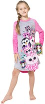 Intimo Beanie Boos Plush Raglan Nightgown (Little Girls & Big Girls)