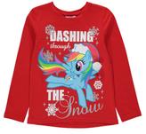 George My Little Pony Christmas Long Sleeve Top
