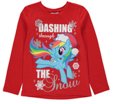 George My Little Pony Long Sleeve Christmas Top
