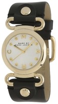Marc by Marc Jacobs MBM1309 Stainless Steel / Leather with White Dial 30mm Womens Watch