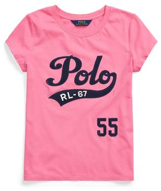 Ralph Lauren Cotton Jersey Graphic Tee