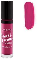 Jordana Sweet Cream Matte Liquid Lip Color - Sugar Berry Crumble