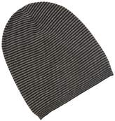 Saks Fifth Avenue Men's Stripe Slouch Cashmere Beanie