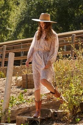 Velvet by Graham & Spencer Beau Cotton Voile Peasant Dress