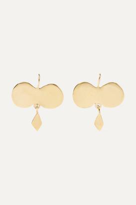 ARIANA BOUSSARD-REIFEL Mazcala Gold-tone Earrings - one size