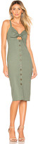 Privacy Please Sage Midi Dress