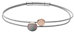 Skagen Women's Anette Stainless Steel Mother of Pearl Bracelet