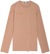 MSGM Wool Fringed Top