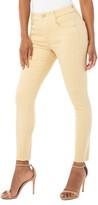 Liverpool Gia Glider Pull-On Cut Hem Crop Skinny Jeans