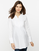 A Pea in the Pod Isabella Oliver Convertible Sleeve Button Front Maternity Shirt
