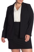 Halogen Ela Notch Collar Suit Jacket (Plus Size)