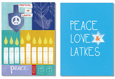 20-Ct. Festival of Lights & Latkes Holiday Greeting Card Set