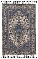 Karma Living Ethno Arabesque Handmade Cotton Rug