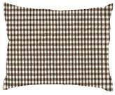 Ababy Chocolate Gingham Crib Pillow Sham - Size: 13 x 15 inches