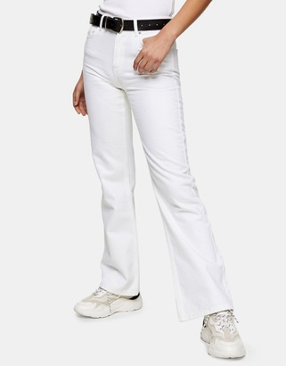 Topshop Zed jeans in white