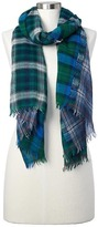 Gap Wool plaid scarf