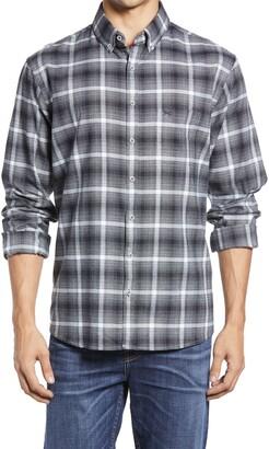 Brax Daniel Slim Fit Flannel Button-Down Shirt