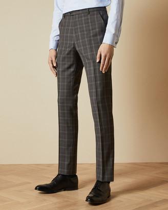 Ted Baker NOVIAT Debonair wool check suit trousers