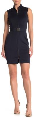 Tommy Hilfiger Sleeveless Front Zip Dress