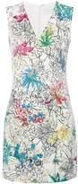 Peter Pilotto sleeveless floral print mini dress