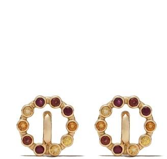 Charlotte Chesnais 18kt yellow gold Saturn earrings