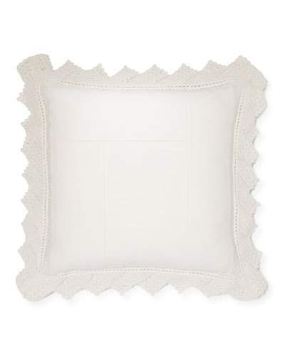 "Ralph Lauren Home Saranac Peak Kayla Pillow, 18""Sq."