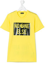 Diesel teen printed T-shirt - kids - Cotton - 14 yrs