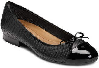 Aerosoles Outrun Perforated Ballet Flat - Wide Width Available