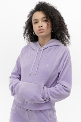 Juicy Couture UO Exclusive Lilac Hoodie - Purple XS at Urban Outfitters