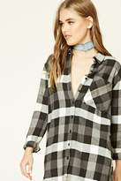 Forever 21 FOREVER 21+ Buffalo Plaid Flannel Shirt
