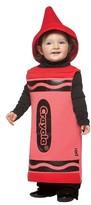 Crayola Toddler Crayon Costume - Red