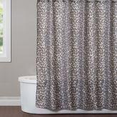 Saturday Knight Zanzibar Shower Curtain in Dove Grey