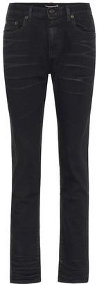 Saint Laurent High-rise slim cropped jeans