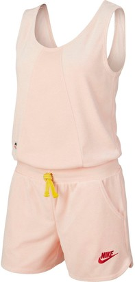 Nike NSWGirls Heritage Romper - Coral