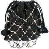 Sonia Rykiel Le Baltard crossbody bag - women - Lamb Skin/Polyester/Tin/glass - One Size