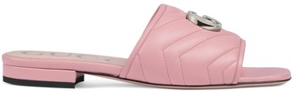 Gucci Women's slide sandal with DoubleG