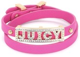 Juicy Couture Pave Juicy Double Wrap Bracelet
