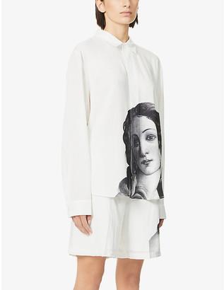 Stussy Venus-print woven shirt