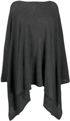 Agnona Cashmere Oversized Draped Jumper