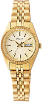 Pulsar Men's Gold-Tone Stainless Steel Bracelet Watch 24mm PXX004