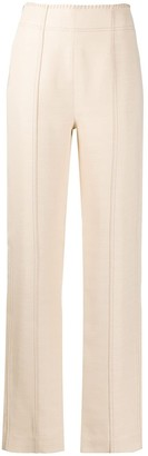 Acne Studios Contrast-Stitching Trousers
