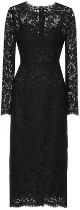 Dolce & Gabbana Lace midi dress