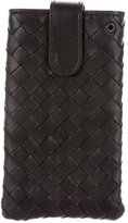 Bottega Veneta Intrecciato Leather Phone Case w/ Tags