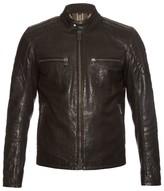 Belstaff Archer stand-collar leather jacket