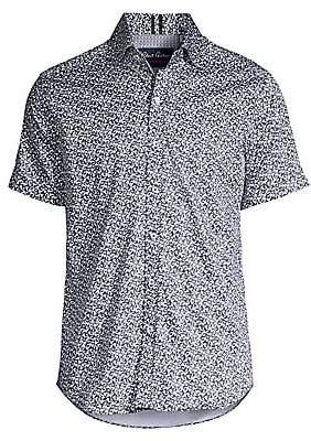 Robert Graham Men's Reynolds Classic-Fit Short-Sleeve Printed Shirt
